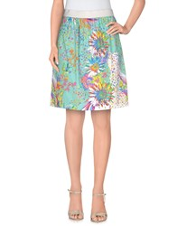 Pf Paola Frani Skirts Knee Length Skirts Women Turquoise