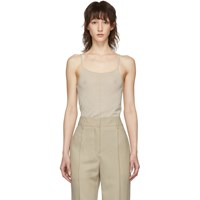 Christophe Lemaire Off White Second Skin Tank Top