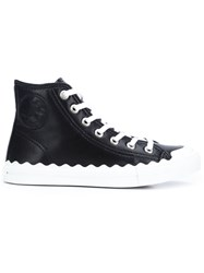 Chloe 'Kyle' Hi Top Sneakers Black