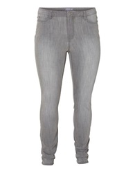 Junarose Plus Five Push Up Slim Fit Jeans Medium Grey