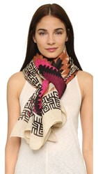 Theodora And Callum New Mexico Scarf Sand Multi