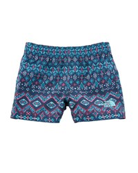 The North Face Hike Water Ikat Print Shorts Size 2 4T Blue