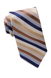 Nicole Miller Striped Silk Tie