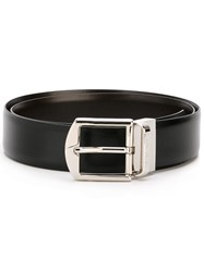 Canali Reversible Belt Black