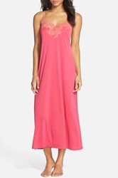 Natori Lace Sleep Gown Pink