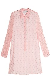 Paul And Joe Cotton Voile Dress Pink