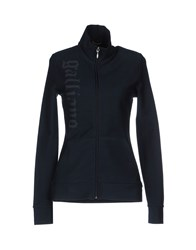 Galliano Topwear Sweatshirts Women Dark Blue