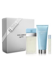 Dolce And Gabbana Light Blue Eau De Toilette Three Piece Gift Set No Color