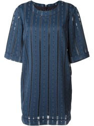 Libertine Libertine 'Certain' Dress Blue