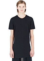 Rick Owens Doubled Short Sleeved Tunic Top Black