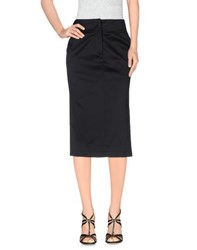 List Skirts Knee Length Skirts Women Black