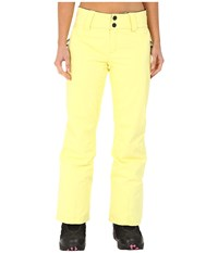 Obermeyer Monterossa Pants Daffodil Women's Casual Pants Yellow