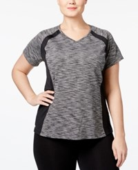 Ideology Plus Size Printed Performance T Shirt Only At Macy's Noir