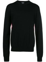 Calvin Klein 205W39nyc Contrasting Panel Jumper Black