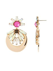 Maiocci Collection Gold Multicolor Earrings N A N A