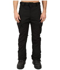 686 Authentic Smarty Cargo Pants Black Long Men's Casual Pants