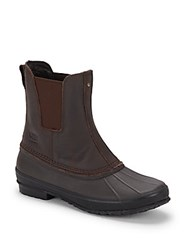 Ugg Romosa Waterproof High Top Leather Boots Brown