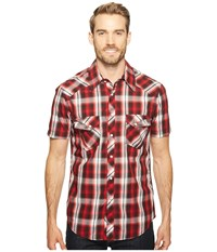 Rock And Roll Cowboy Short Sleeve Snap B1s2063 Red Men's Clothing