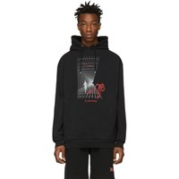 Filling Pieces Black Imagination Hoodie