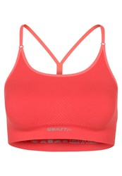 Craft Sports Bra Tempo Shock Orange
