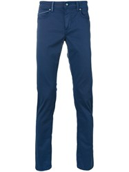 Re Hash Rubenzs Trousers Men Cotton Spandex Elastane 32 Blue