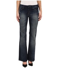 Dkny Madison Flare In Park West Tint Wash Park West Tint Wash Women's Jeans Blue