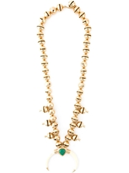 Aurelie Bidermann 'Bells Navajo' Necklace Metallic