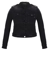 Replay Denim Jacket Black Denim
