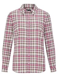 Viyella Check Shirt Pink