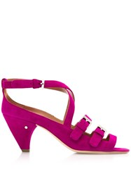 Laurence Dacade Buckled Sandals Pink