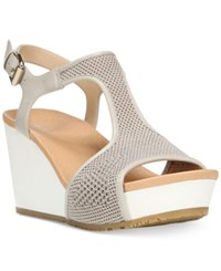 Dr. Scholl's Wiley Wedge Sandals Women's Shoes Bone