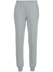 Atm Anthony Thomas Melillo 'French Terry' Slim Fit Track Pants Grey