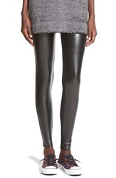Junior Women's Bp. Faux Leather Leggings