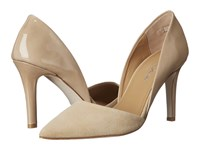 Massimo Matteo Pointy Toe Pump Nude High Heels Beige