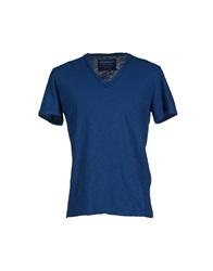 Crossley T Shirts Blue