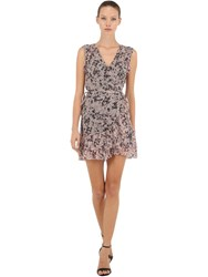e9aad5b5c6 Allsaints Priya Petal Sleeveless Wrap Dress Pink