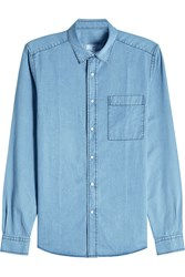 Ami Alexandre Mattiussi Denim Shirt With Cotton