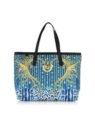 Just Cavalli Multicolor Eco Leather Tote