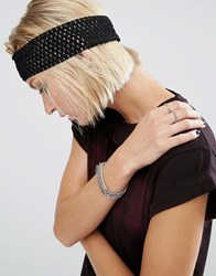 Asos Net Headband Black