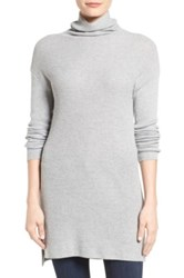 Halogen Funnel Neck Tunic Gray