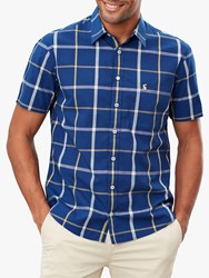 Joules Wilson Check Short Sleeve Classic Fit Shirt