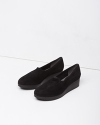 Robert Clergerie Naloj Wedge Slip On Black