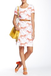 Orla Kiely Graphic T Shirt Dress Multi