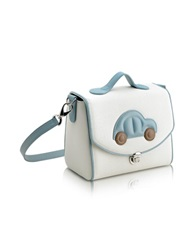 Pineider Blue Car Snack Bag White