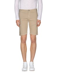 Jcolor Trousers Bermuda Shorts Men Beige