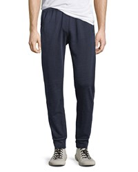 Atm Anthony Thomas Melillo French Terry Cloth Track Pants Blue