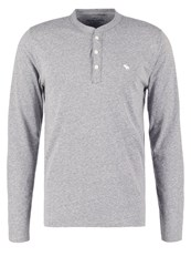 Abercrombie And Fitch Long Sleeved Top Grey