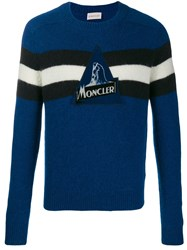 Moncler Striped Detail Knitted Jumper 60