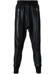 Unconditional Zip Detail Coated Track Pants