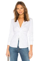 Bailey 44 Tallula Twist Front Shirt White
